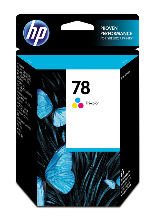 Genuine OEM HP C6578DN (HP 78) Color Inkjet Cartridge (19 ml)