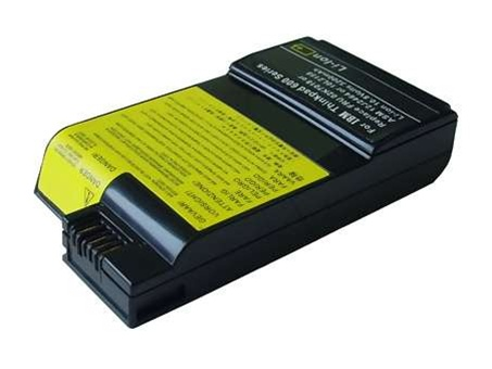 IBM/Lenovo ThinkPad 600 Battery (10.8V, 4400 mAh, Li-ion 6 Cells)