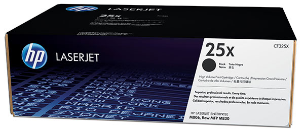 Genuine OEM HP CF325X HP 25X High Yield Black Toner Cartridge (34,500 page yield)