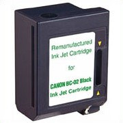 Premium Quality Black Inkjet Cartridge compatible with the Canon (BC-02) 0881A003AA (500 page yield)