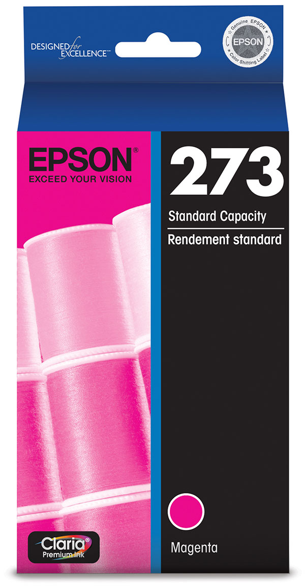 Genuine OEM Epson T273320 Magenta Ink ()