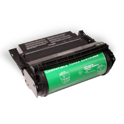Premium Quality Black MICR Toner Cartridge compatible with the Lexmark 12A5745 (25000 page yield)
