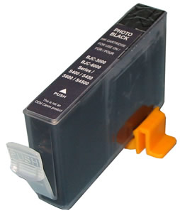 Premium Quality Photo Black Inkjet Cartridge compatible with the Canon (BCI-3ePB) 4485A003AA
