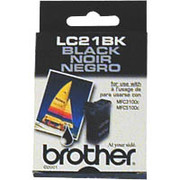 Genuine OEM Brother LC-21BK Black Inkjet Cartridge (950 page yield)