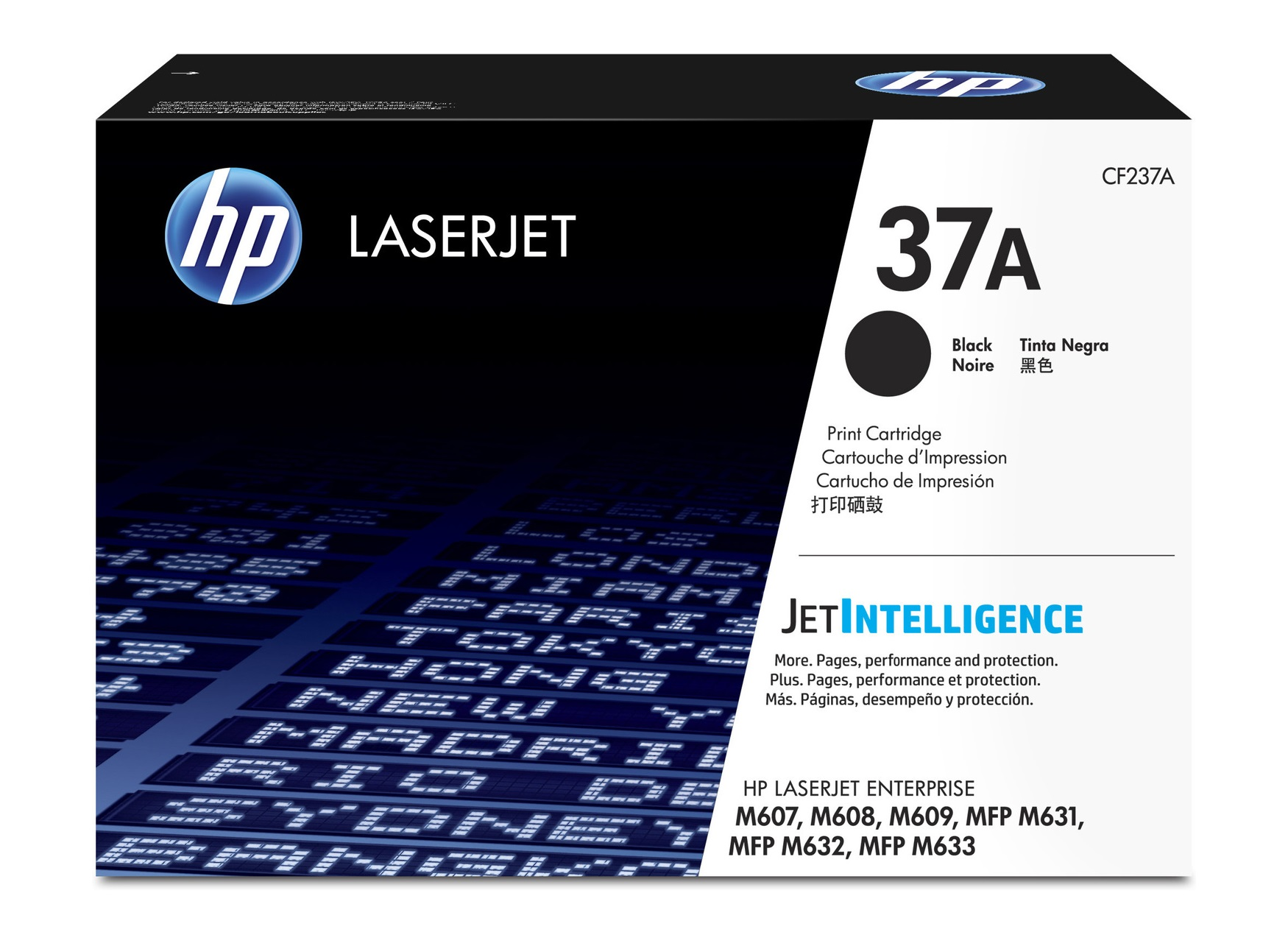 HP CF237A (HP 37A) Black OEM Toner Cartridge