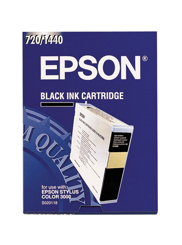Genuine OEM Epson S020118 Black Inkjet Cartridge