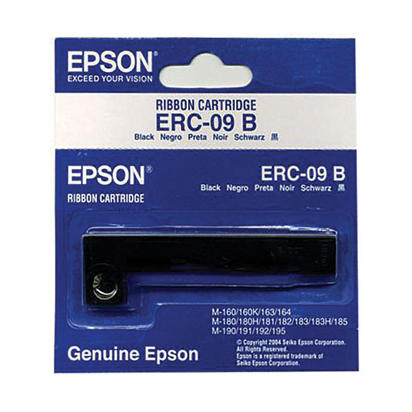 Genuine OEM Epson ERC-09B Black POS Ribbon (6 pk)